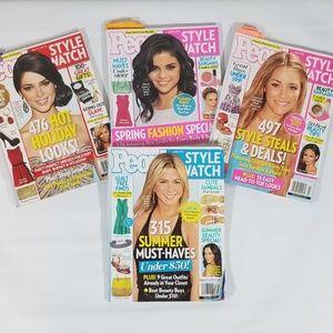 People Style Watch Magazine Lot
